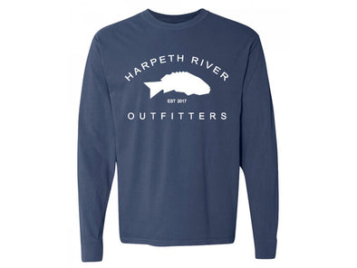 Harpeth River Outfitters Long Sleeve Banner T-Shirt