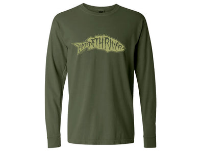 Harpeth River Outfitters Smallmouth Long Sleeve T-Shirt Hemp