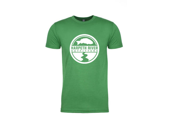 Harpeth River Logo T-Shirt Kelly Green