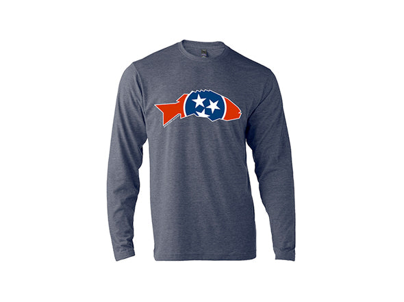 State Series Smallmouth Bass Long Sleeve T-Shirt - Tennessee