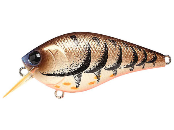 Lucky Craft LC Silent Squarebill Cameleon Brown Craw