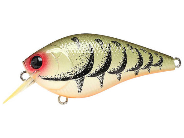 Lucky Craft LC Silent Squarebill Crazy Green Craw