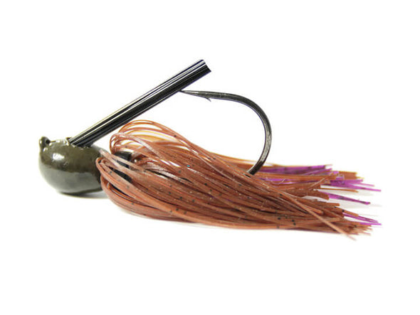 Missile Baits Ike's Mini Flip Jig Brown Purple Passion
