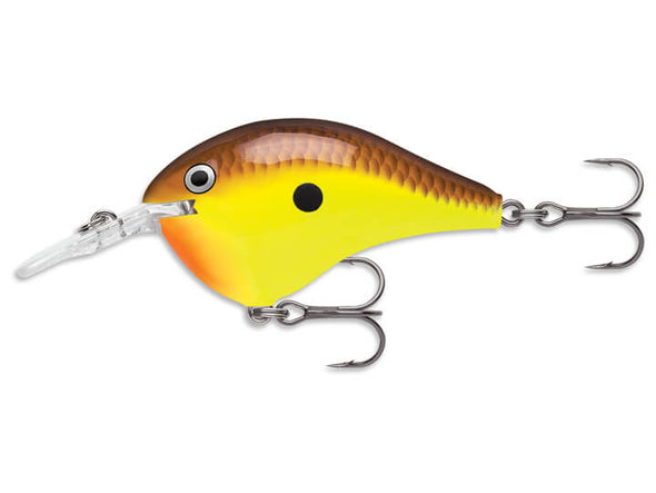 Rapala DT Series Chartreuse Brown