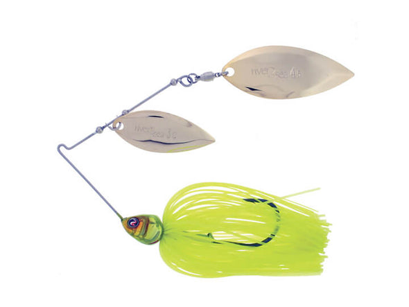 River2Sea Bling Double Willow Spinnerbait Flo