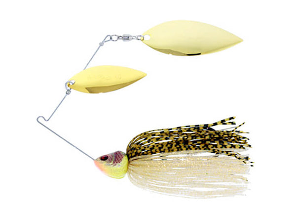 River2Sea Bling Double Willow Spinnerbait Golden Shiner
