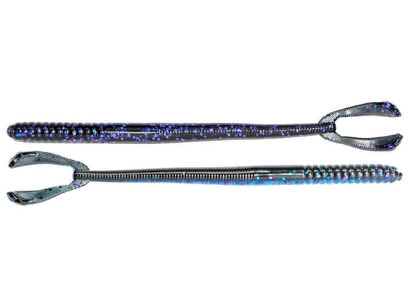 Stanford Baits Kicker Tail Worm Bruiser Blue