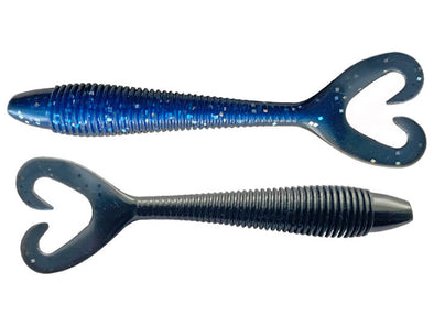 Stanford Baits Big Show Twin Minn Black Blue Silver Fleck