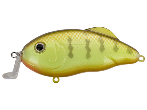 Strike King Hybrid Hunter Jr Chartreuse Perch