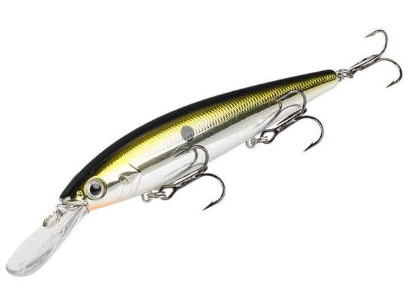 Strike King KVD Deep Jerkbait Chrome Gold Black
