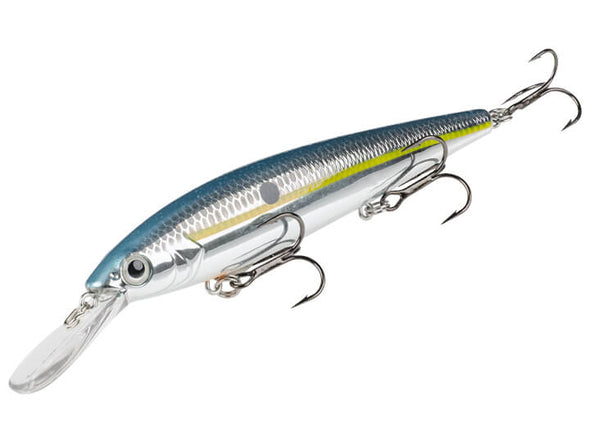 Strike King KVD Deep Jerkbait Chrome Sexy Shad