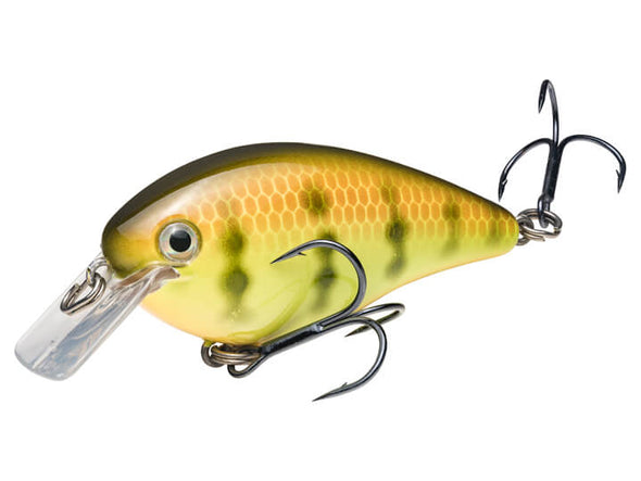 Strike King KVD Square Bill 1.5 Chartreuse Perch
