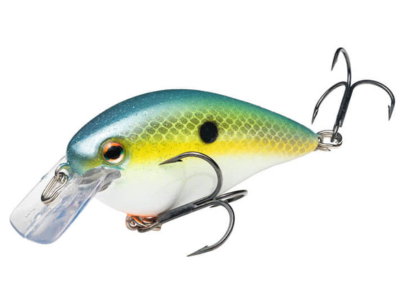 Strike King KVD Square Bill 1.5 Chartreuse Sexy Shad
