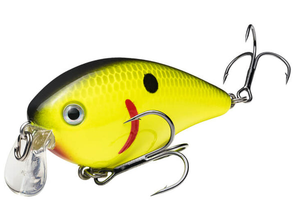 Strike King KVD Shallow Runner 1.5 Black Back Chartreuse