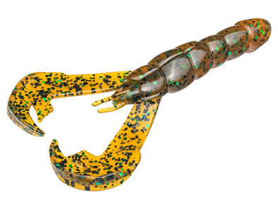 Strike King Rage Craw Amber Green Black