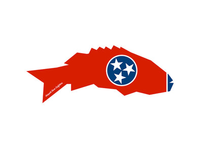 Tennessee Smallmouth Sticker