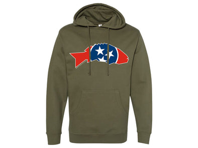 State Series Smallmouth Bass Hooded Sweatshirt Tennessee