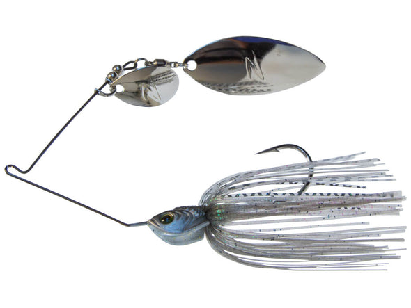 Z-Man SlingBladeZ Willow Colorado Spinnerbait Greenback Shad