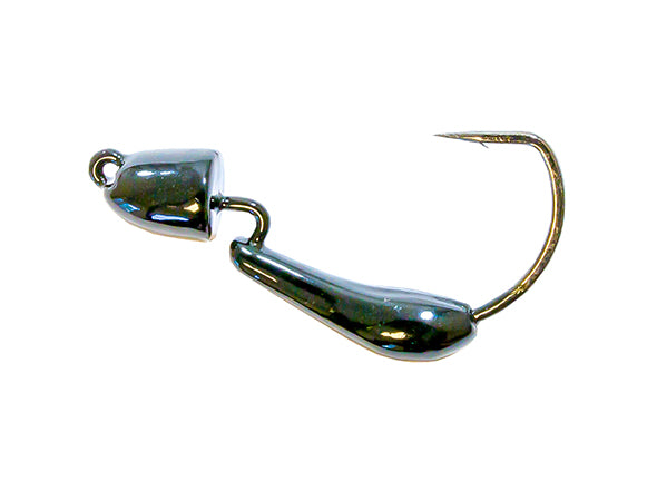 Z-Man Finesse BulletZ Weedless Jighead 1/5 oz Black