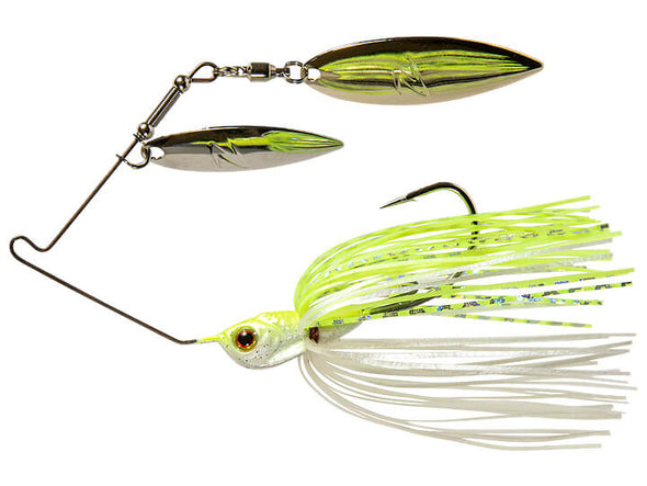Z-Man SlingBladeZ Power Finesse Double Willow Chartreuse Pearl