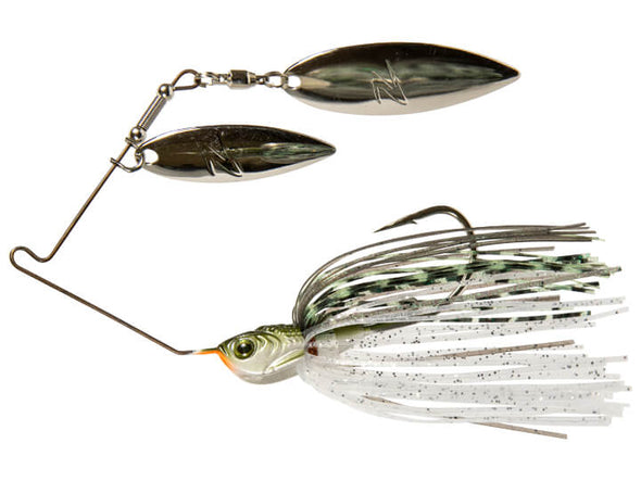 Z-Man SlingBladeZ Power Finesse Double Willow Greenback Shad