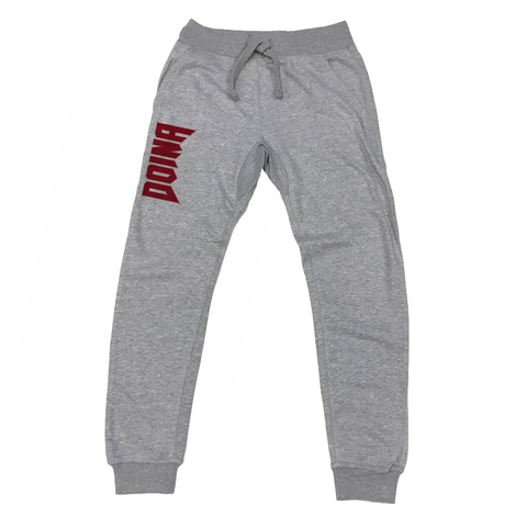 Doina Barbaneagra - Logo Joggers - Heather Grey