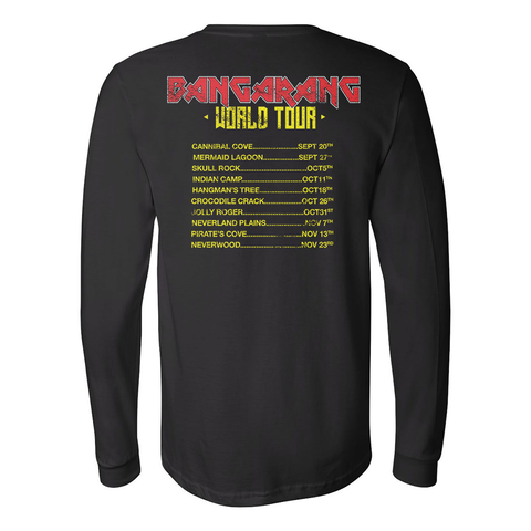 Rufio Uprising - World Tour Long Sleeve Tee
