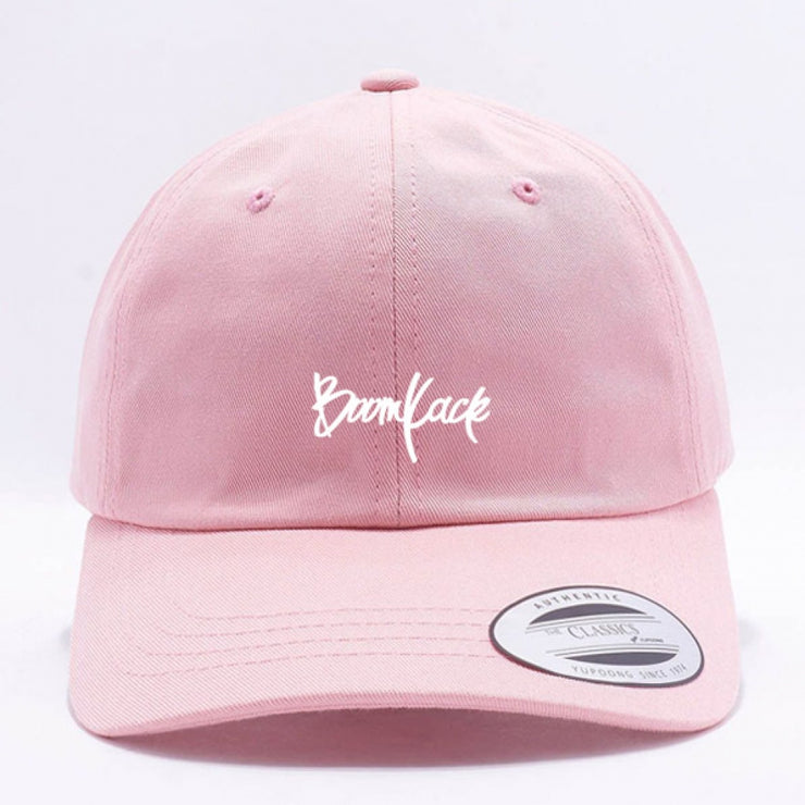 BOOMKACK DAD HAT - PINK
