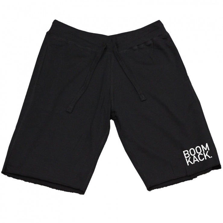BOOMKACK BLOCK SHORTS - BLACK
