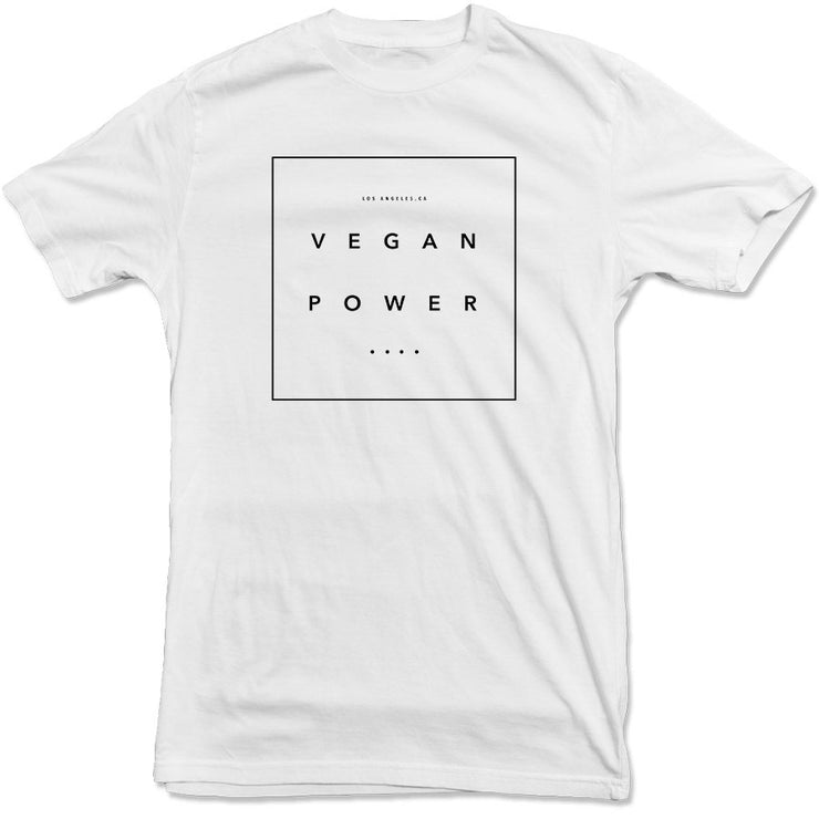 Vegan Power - Box Tee