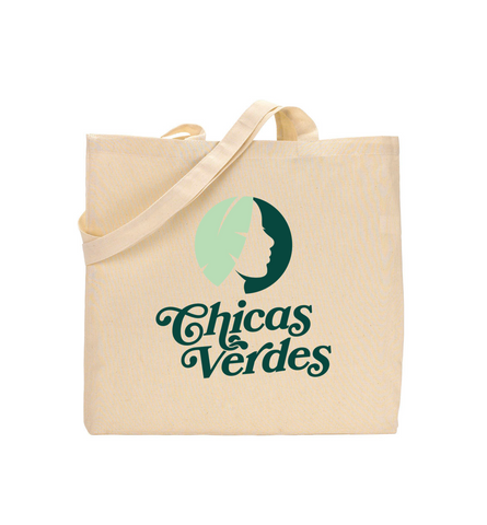 Chicas Verdes - Logo Tote Bag