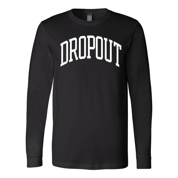 The Daily Dropout - Collegiate Long Sleeve Tee