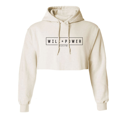 Will And Power - Comfort Kills Crop Hoodie
