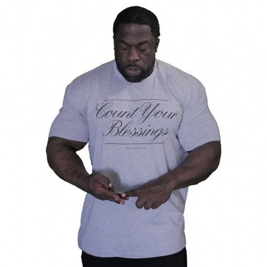 Kali Muscle - Count Your Blessings - Tee