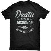 DEATH BEFORE DISHONOR TEE - BLACK