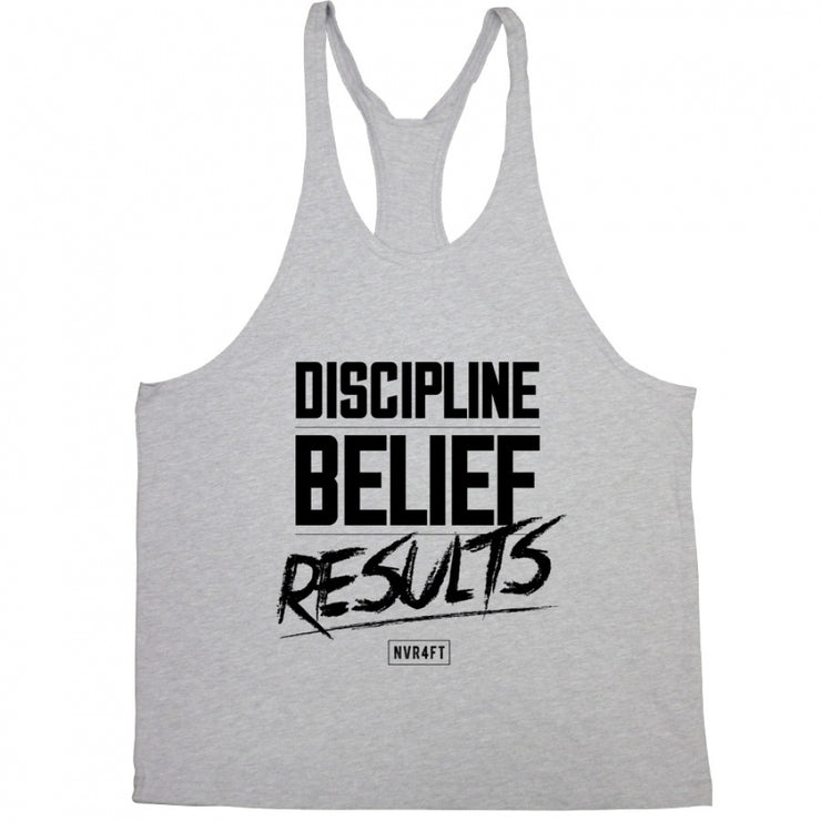 Never4Fit - Discipline Belief Results Stringer