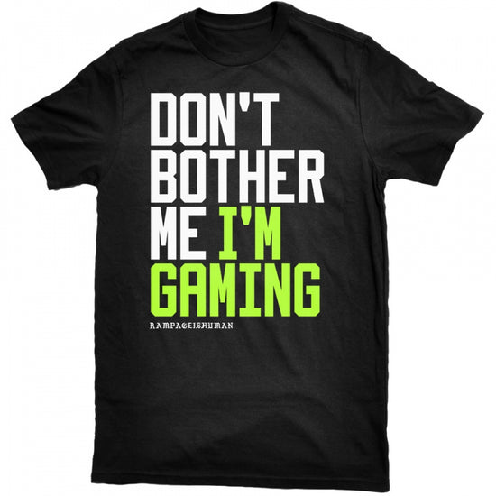 Rampage - Don't Bother Me v2 Tee - Black