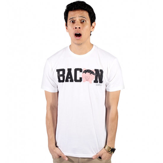 eeeGo - Bacon Tee - White