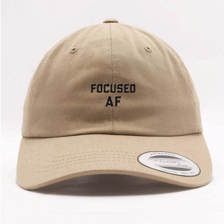 Focused AF Dad Hat - Stone