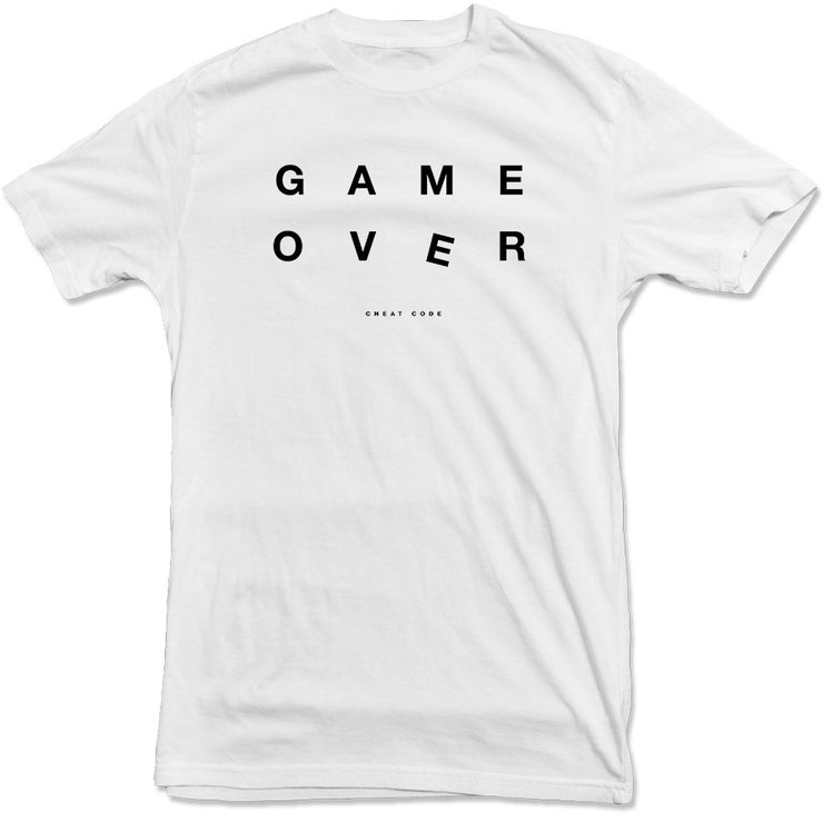 Cheat Code - Game Over Tee