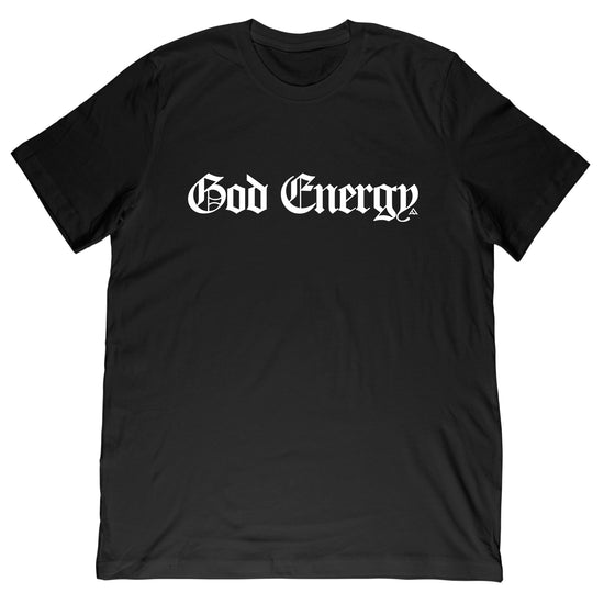 God Energy Tee - Black