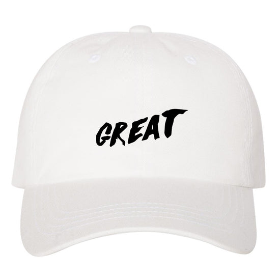 Great Dad Hat - White