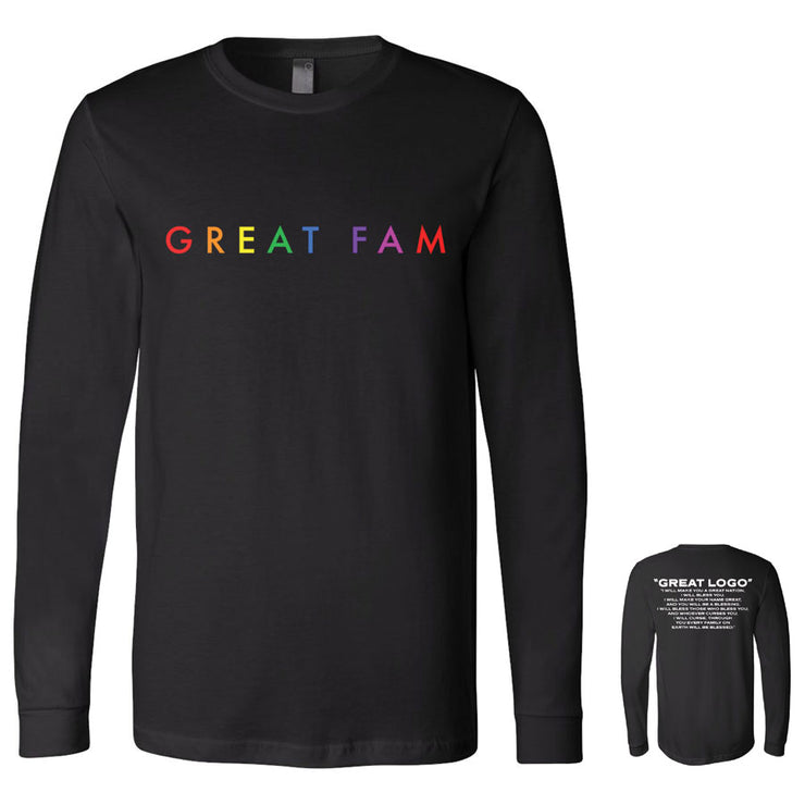 Great Fam Long Sleeve Tee