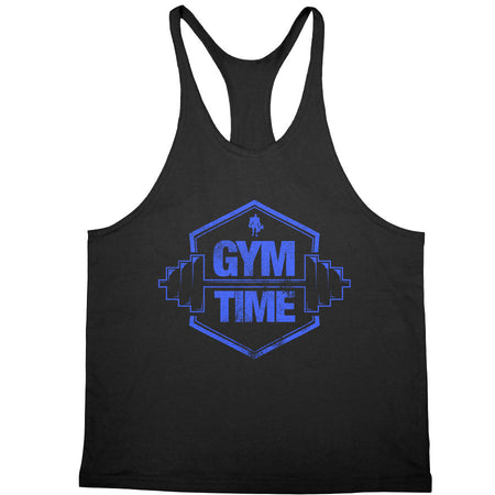 Kali Muscle - Gym Time Blue Stringer