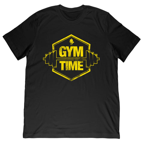 Kali Muscle - Gym TIme Yellow Tee