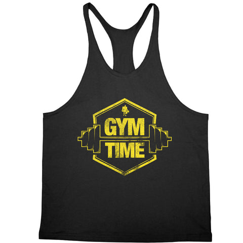 Kali Muscle - Gym Time Yellow Stringer