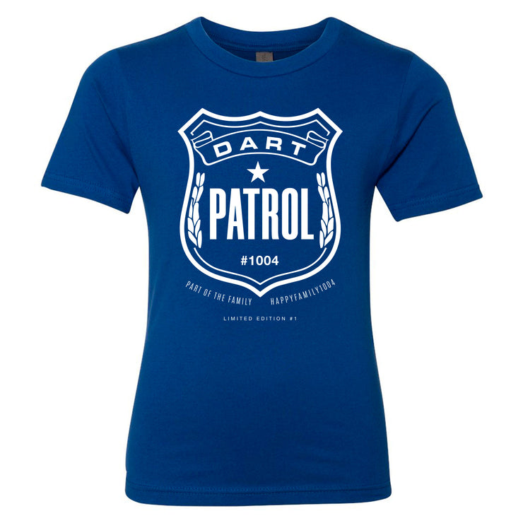 HappyFamily1004 - Dart Patrol Youth Shirt