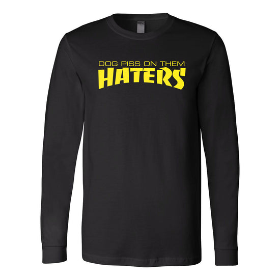 X7 Albert - Haters Long Sleeve Tee