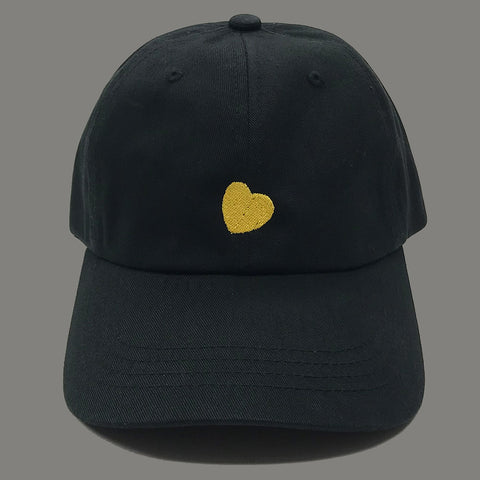Heart Of Gold Dad Hat