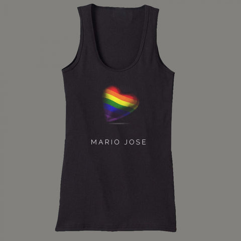 Heart Of Pride Tank - Black